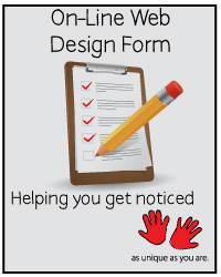social media web design form